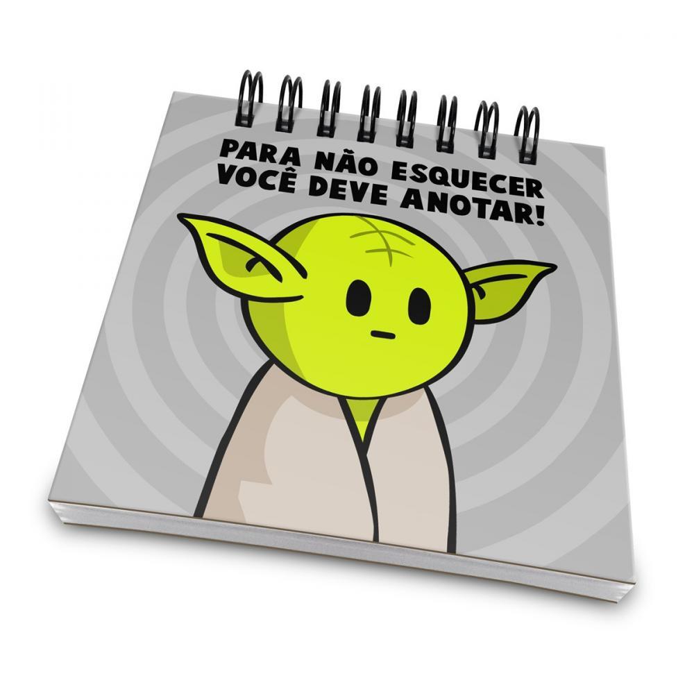 Bloco de Anotaçoes Mestre Yoda