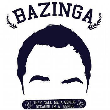 Blusinha Feminina Bazinga The big Bang Theory