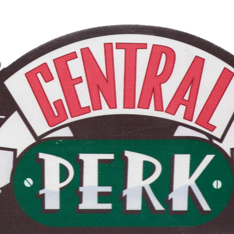 Cabideiro de Madeira Porta Chaves Central Perk Oficial Friends