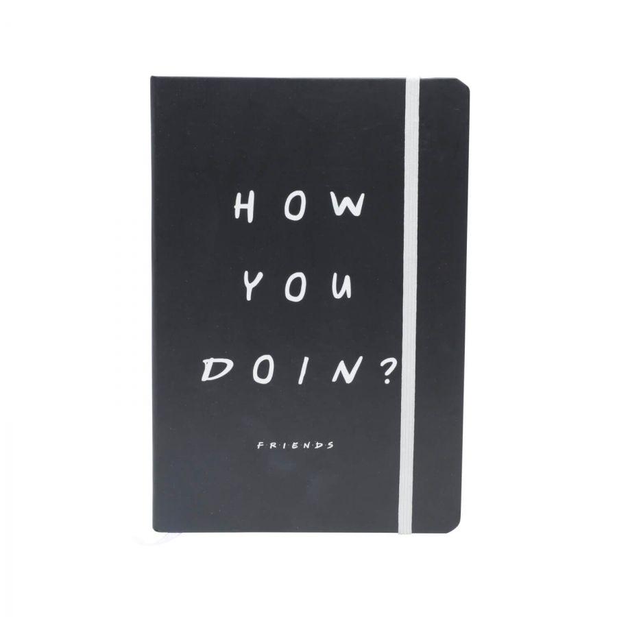 Caderneta de Anotações Friends How You Doin