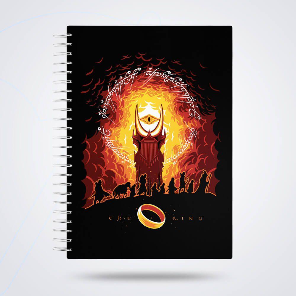 Caderno de Anotações Anel Capa Dura