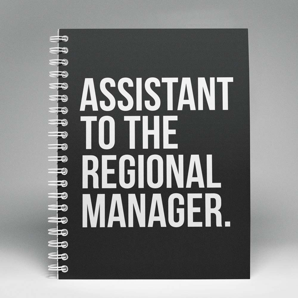Caderno Assistant to the Regional Manager The Office