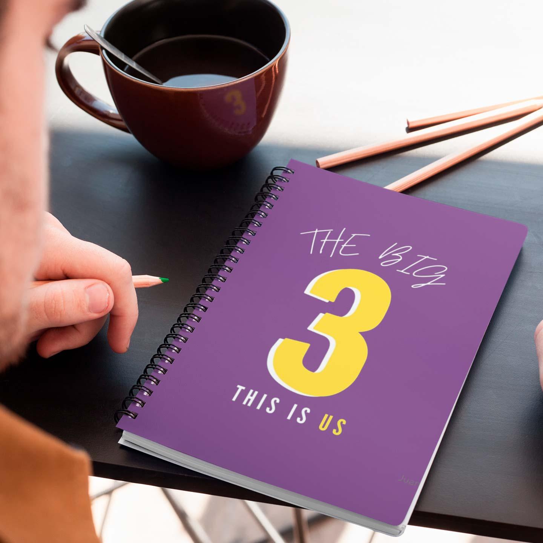 Caderno Big Three This is Us