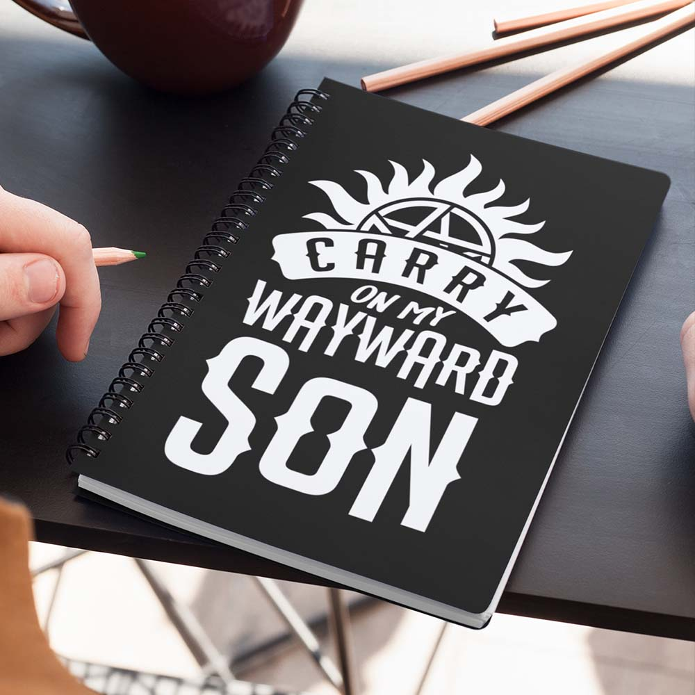 Caderno Carry on my Wayward Son