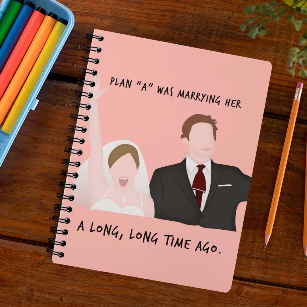 Caderno Casamento Pam e Jim The Office