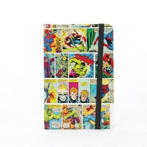 Caderno de Anotação História em Quadrinhos Colorido