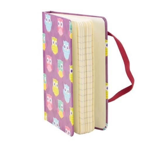 Caderno de Anotações Corridinhos de Corujas
