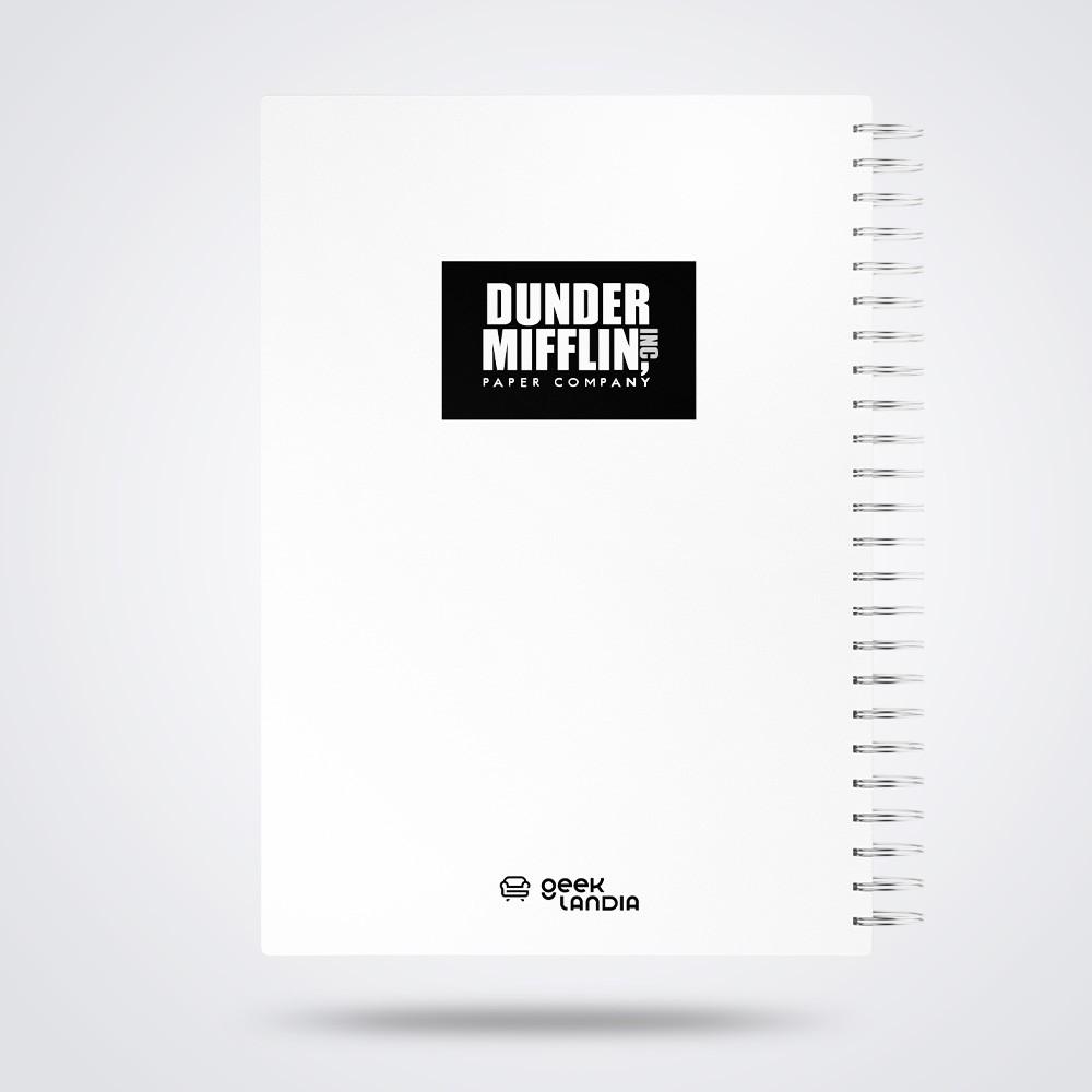 Caderno de Anotações Dwight Fact Capa Dura