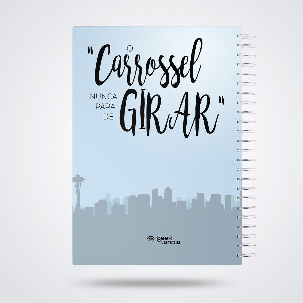 Caderno de Anotações Greys Anatomy