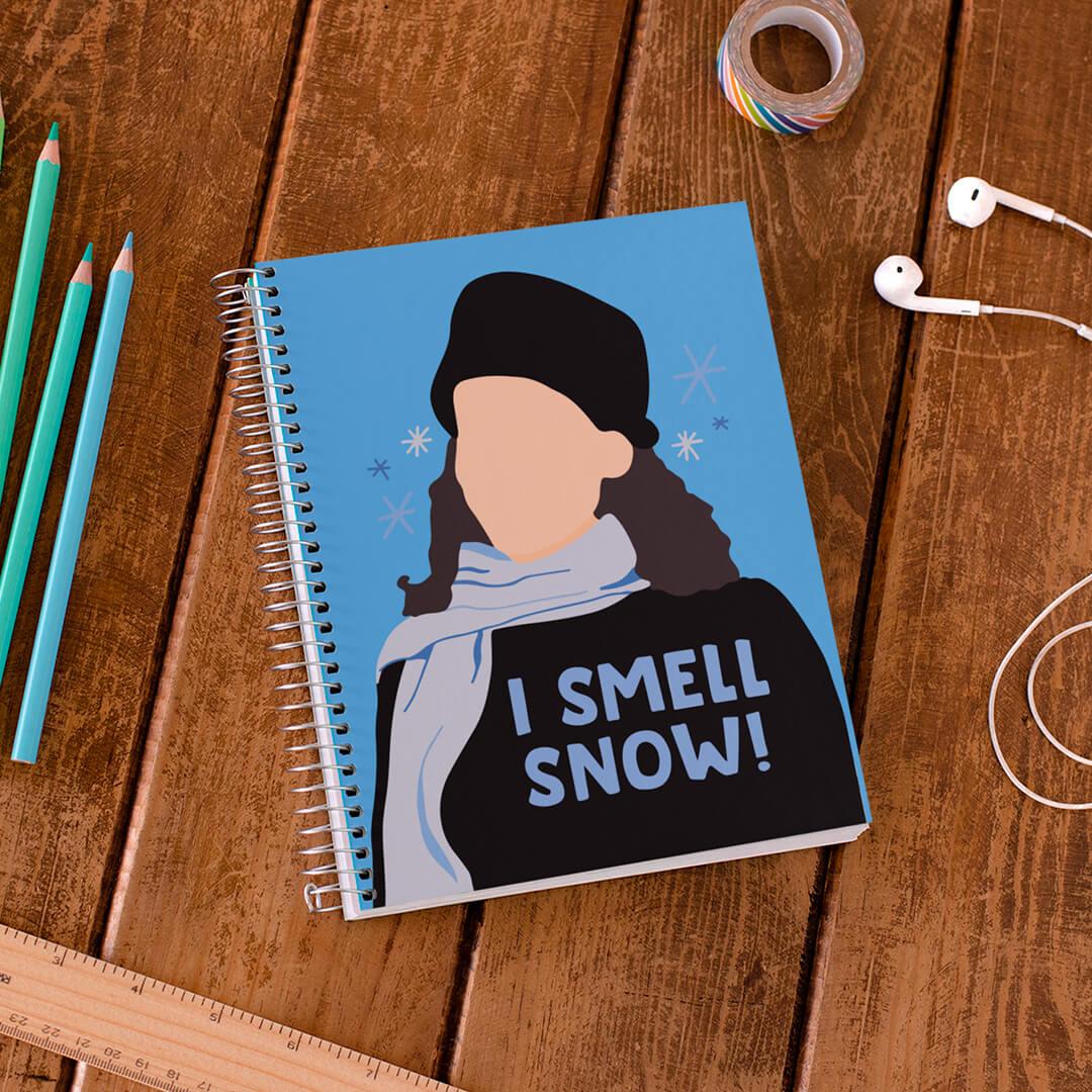Caderno I Smell Snow