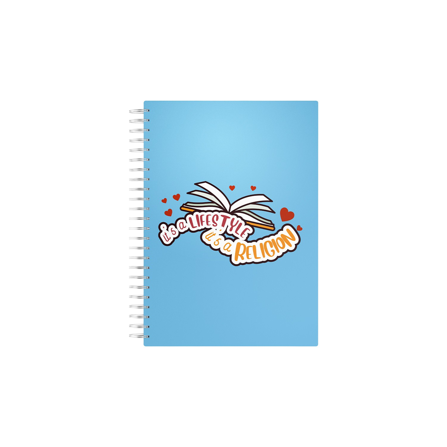 Caderno Its a Lifestyle Its a Religion