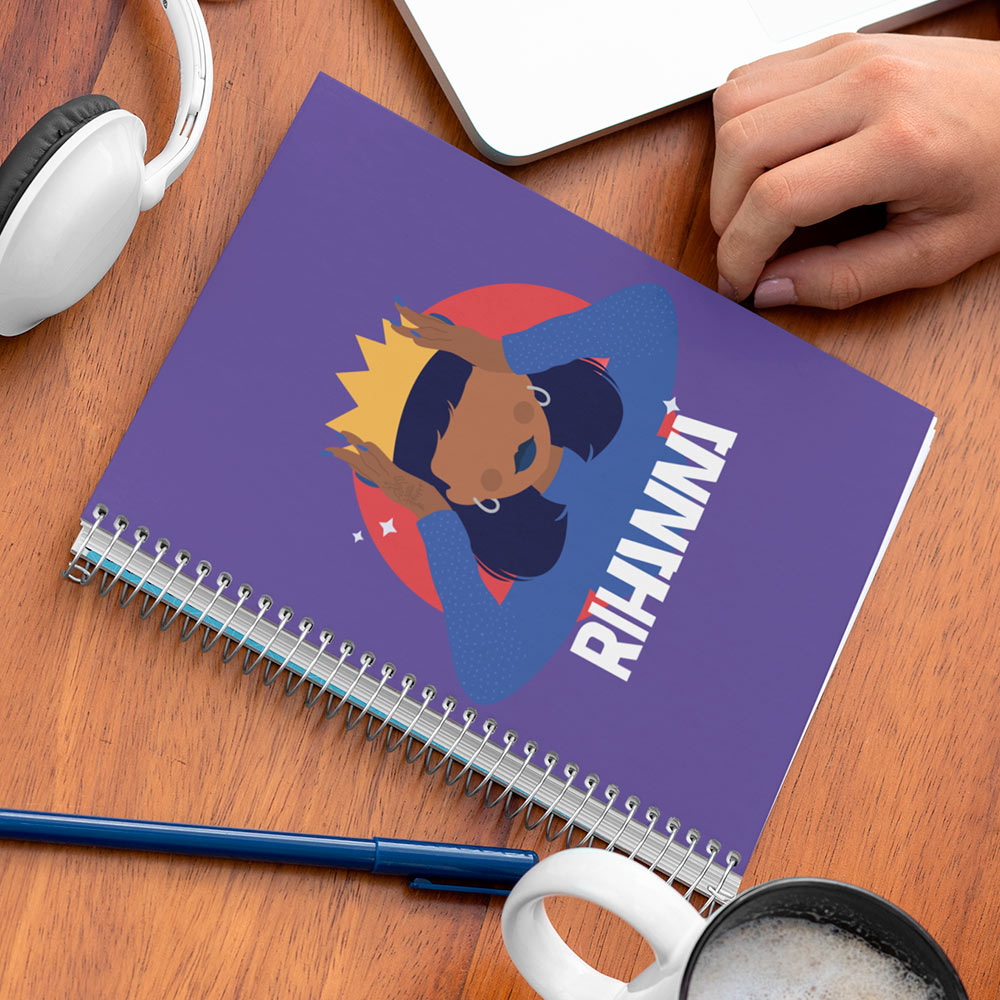 Caderno Rihanna