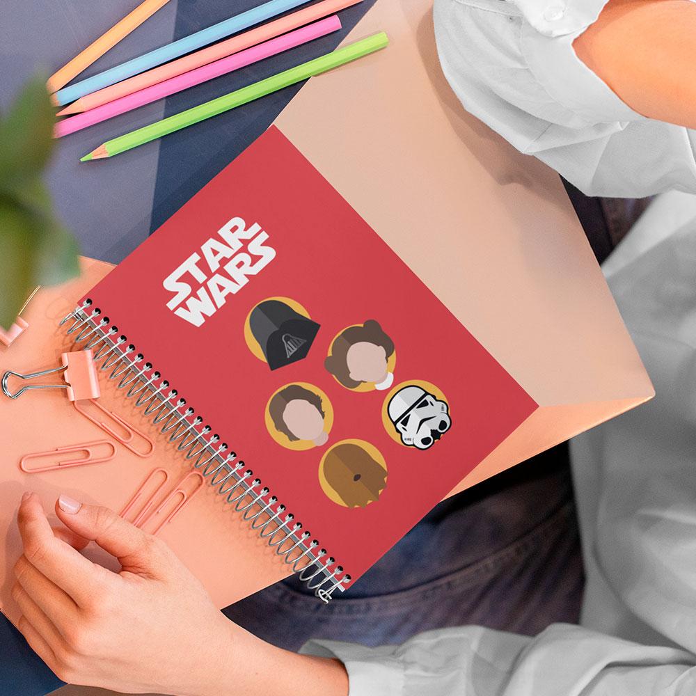 Caderno Star Wars