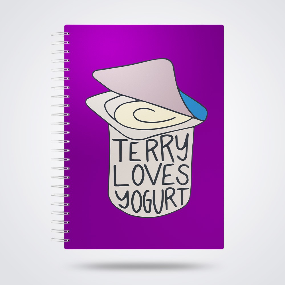 Caderno Terry Loves Yogurt