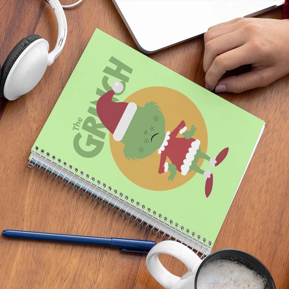 Caderno The Grinch