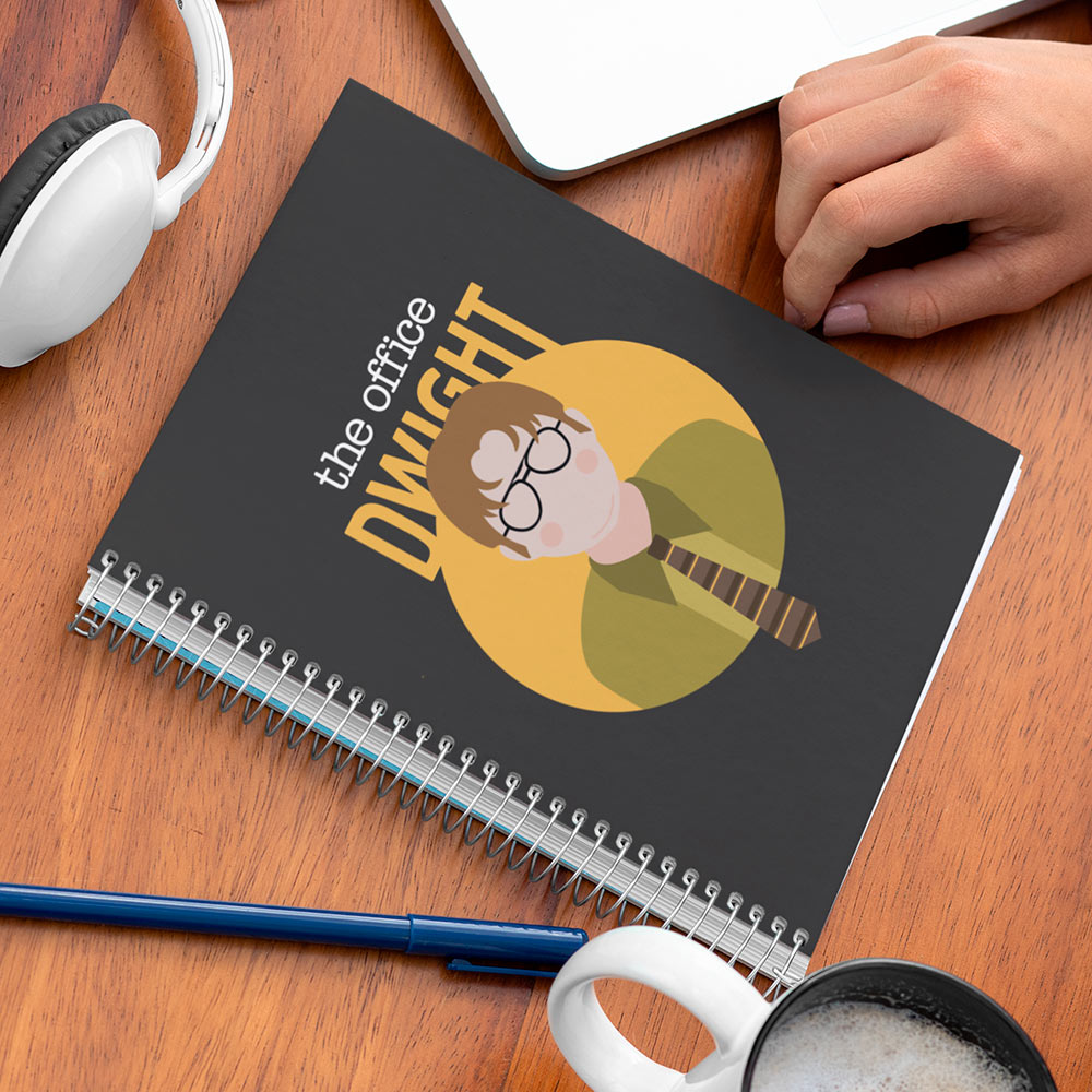 Caderno The Office Dwight