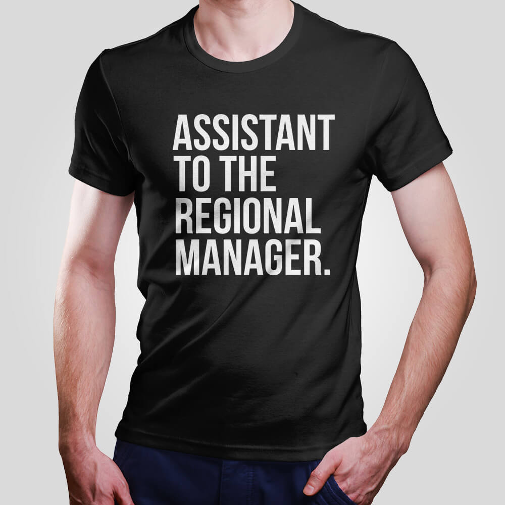 Camiseta Assistant to the Regional Manager