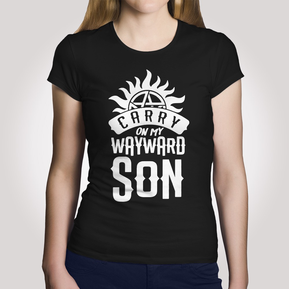 Camiseta Carry on my Wayward Son