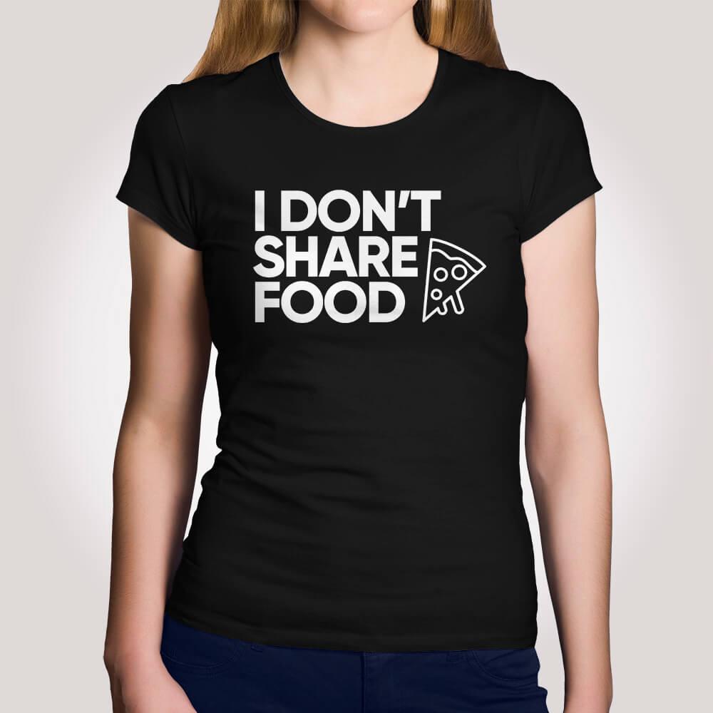 Camiseta Dont Share Food