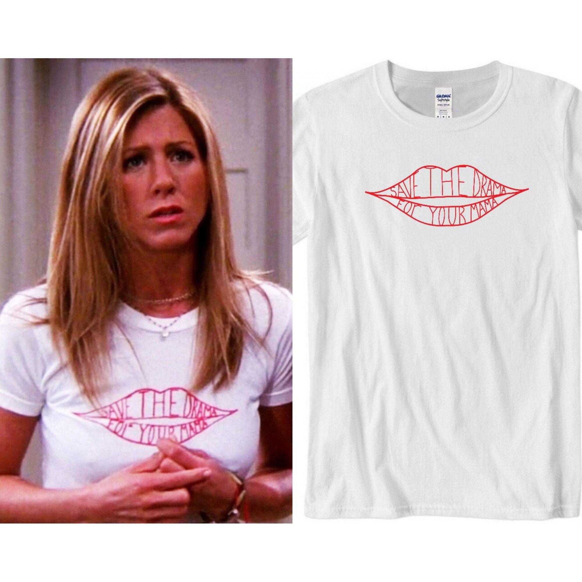 Camiseta Feminina Baby Look Friends Rachel
