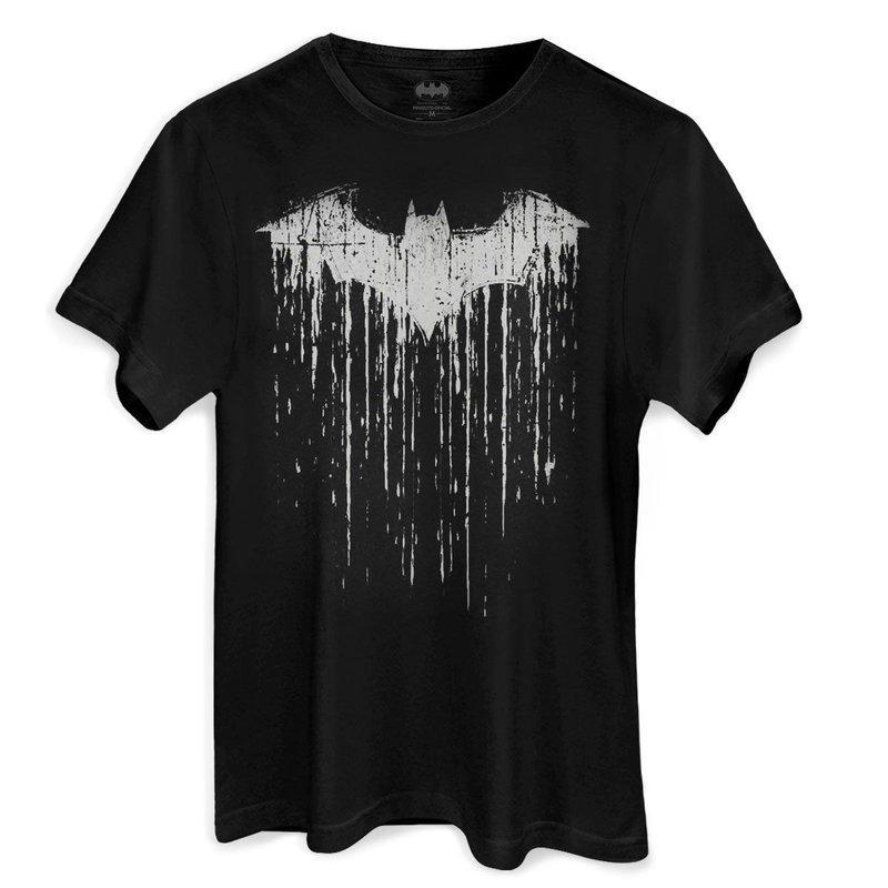 Camiseta Masculina Batman Melting Oficial DC
