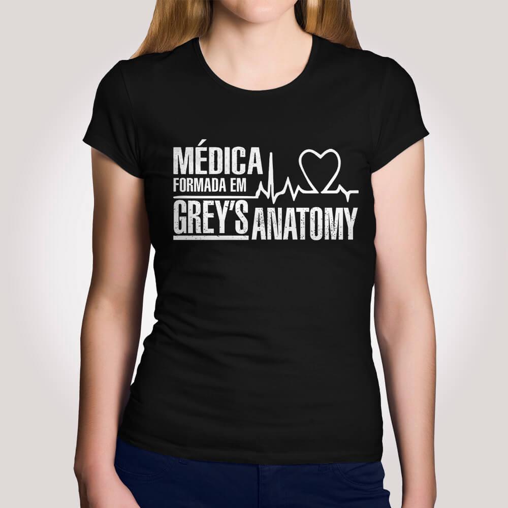 Camiseta Médica Greys