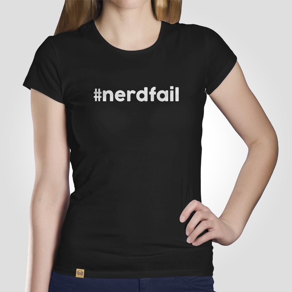 Camiseta Nerd Fail