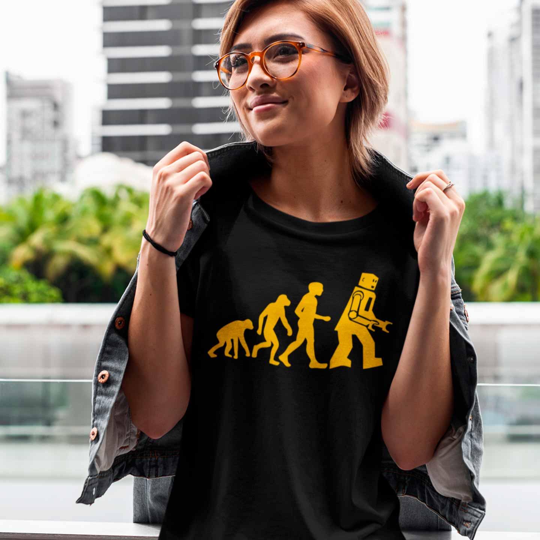 Camiseta Robo Evolution