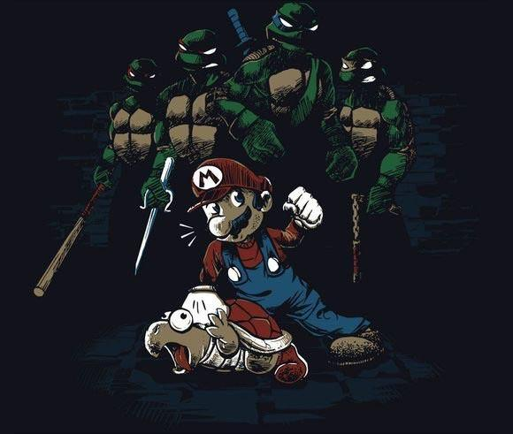 Camiseta Tartarugas Ninjas Masculina