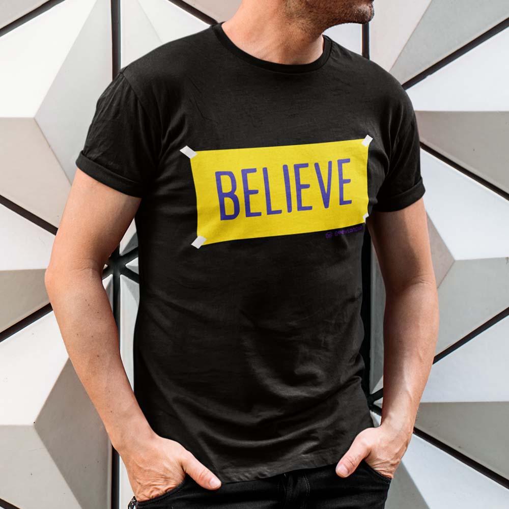 Camiseta Ted Lasso Believe