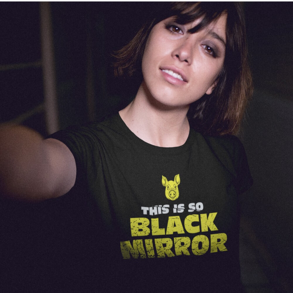 Camiseta This is Black Mirror