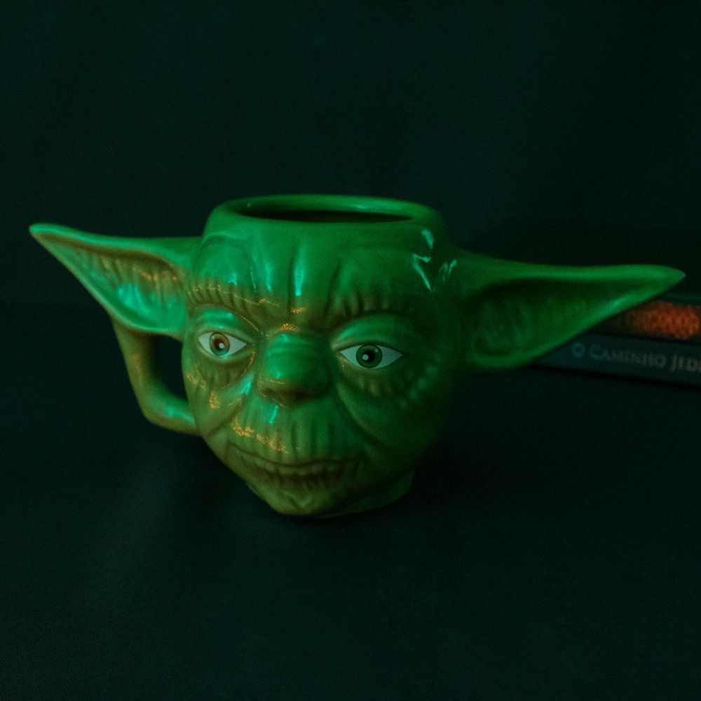 Caneca 3D Mestre Yoda Star Wars