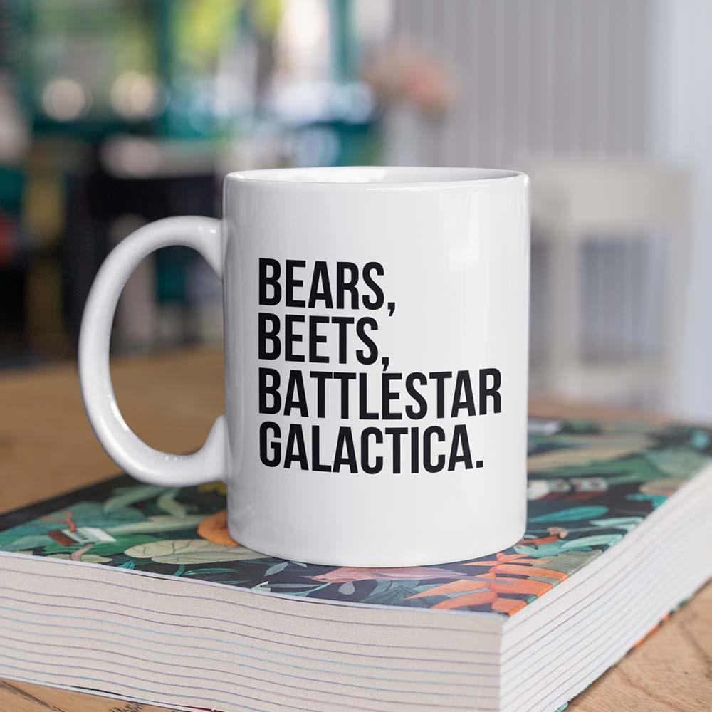 Caneca Bears Beets Battlestar Galactica - The Office