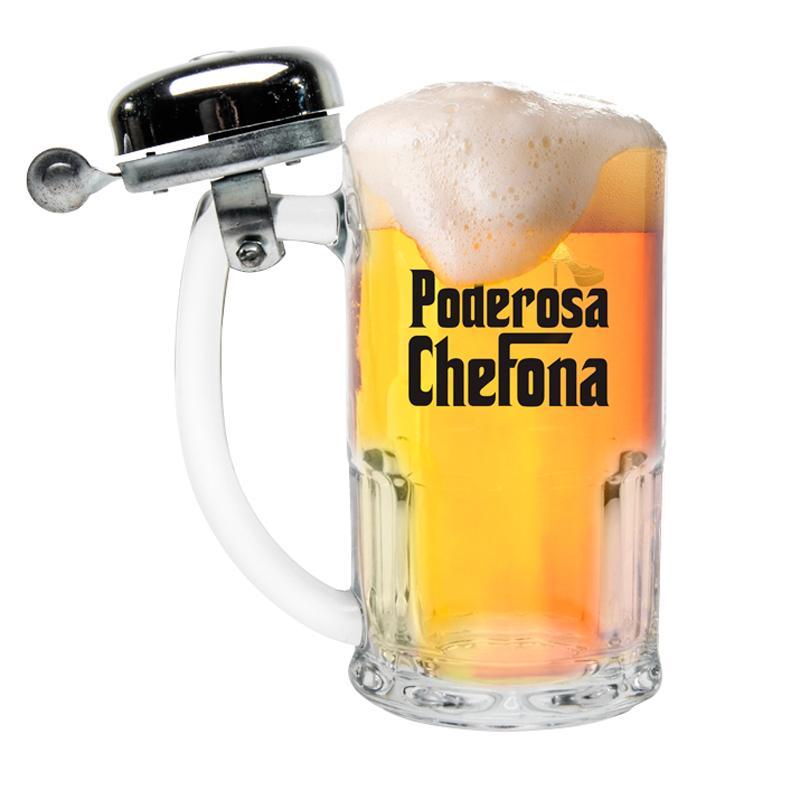 Caneca Campainha 340 ml Poderosa Chefona