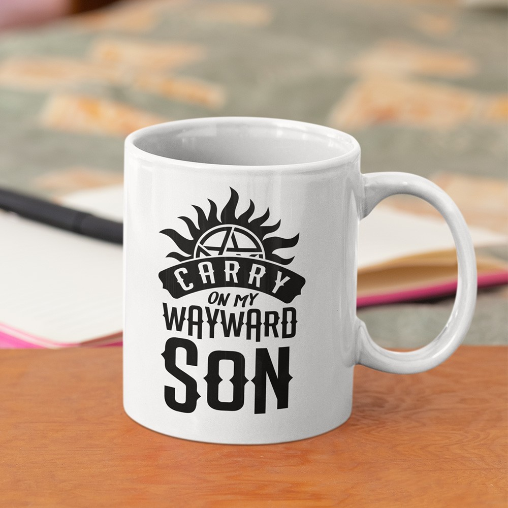 Caneca Carry on my Wayward Son