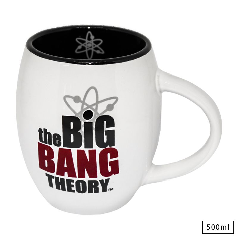 Caneca de Porcelana Oval Oficial The Big Bang Theory
