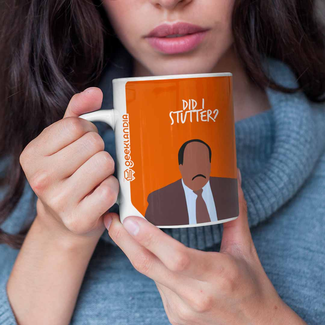 Caneca Did I Stutter Stanley The Office