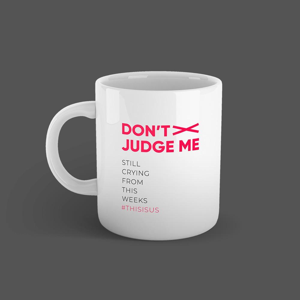 Caneca Dont Judge Me