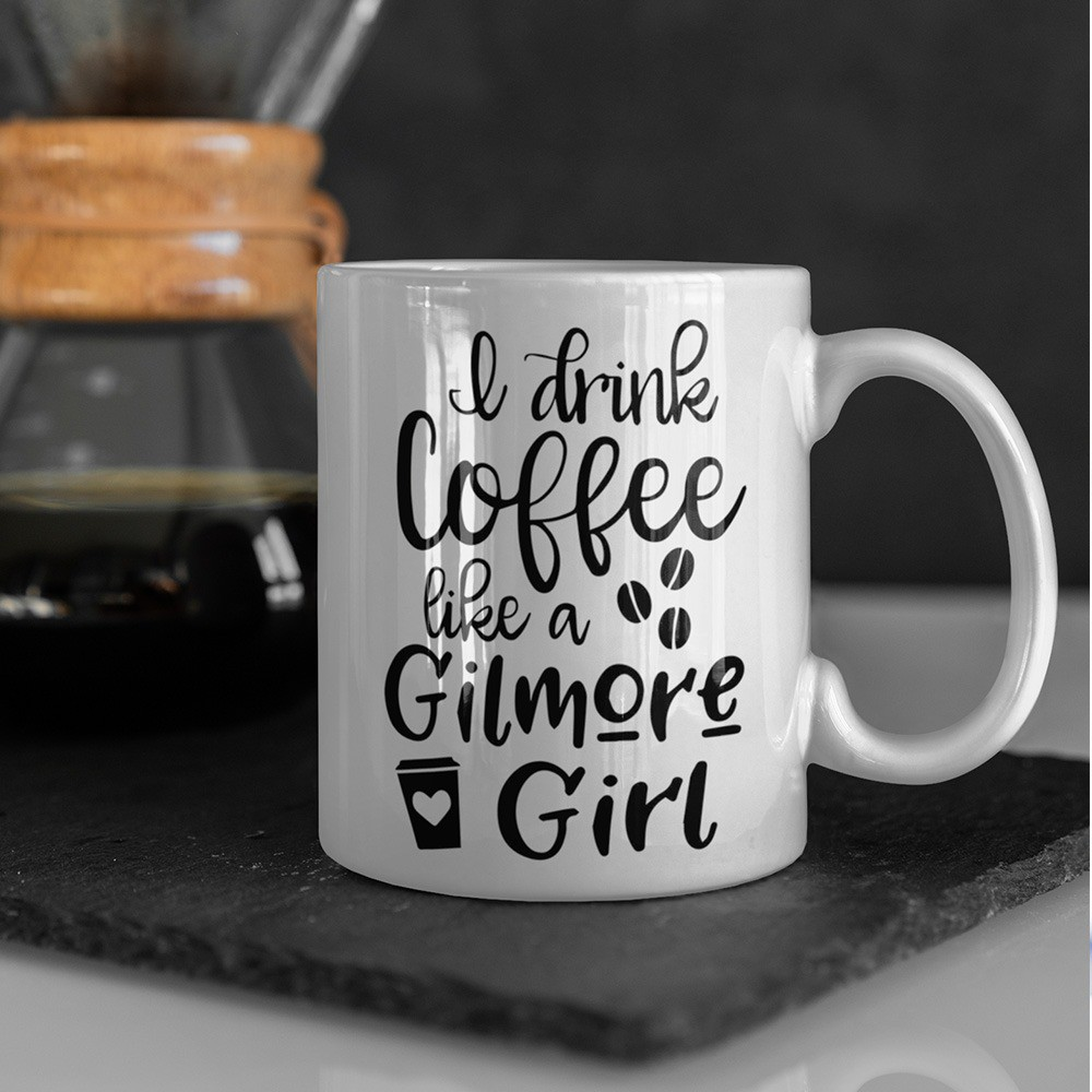 Caneca Drink Coffee Like a Gilmore Girls