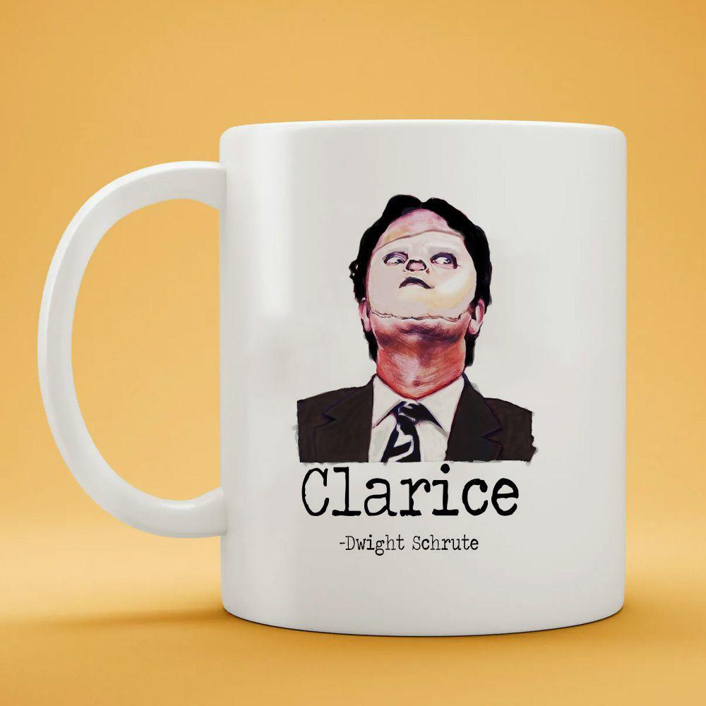 Caneca Dwight Clarice Mascara The Office