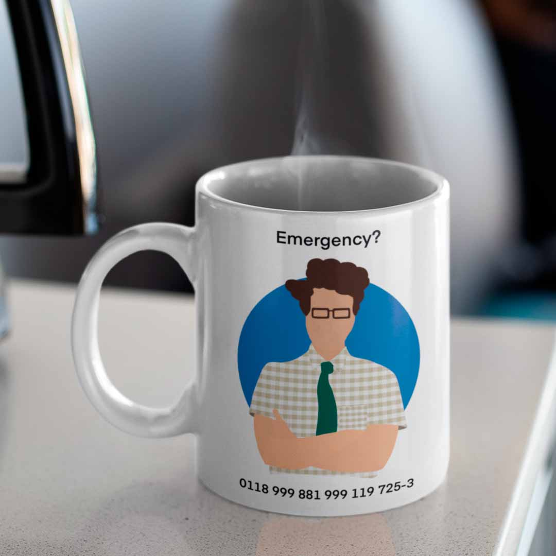 Caneca Emergency Moss The It Crowd
