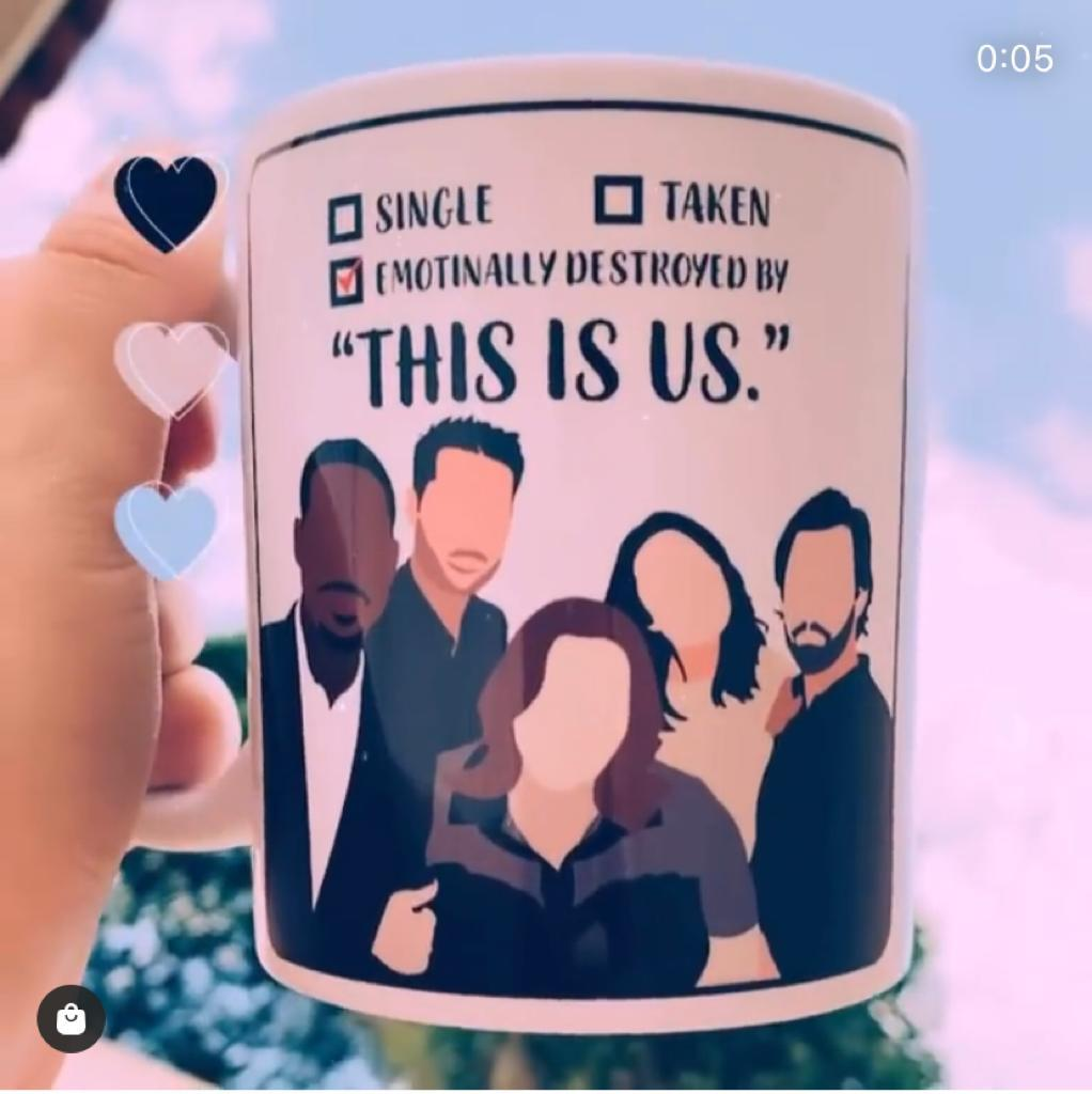Caneca Emotionally Destroyed By This Is Us