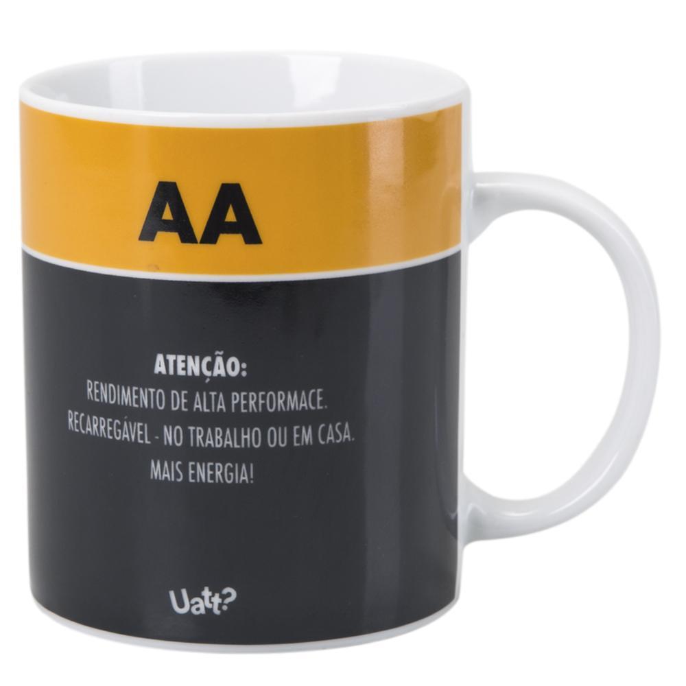Caneca Energia Estampa Pilha Pro Café