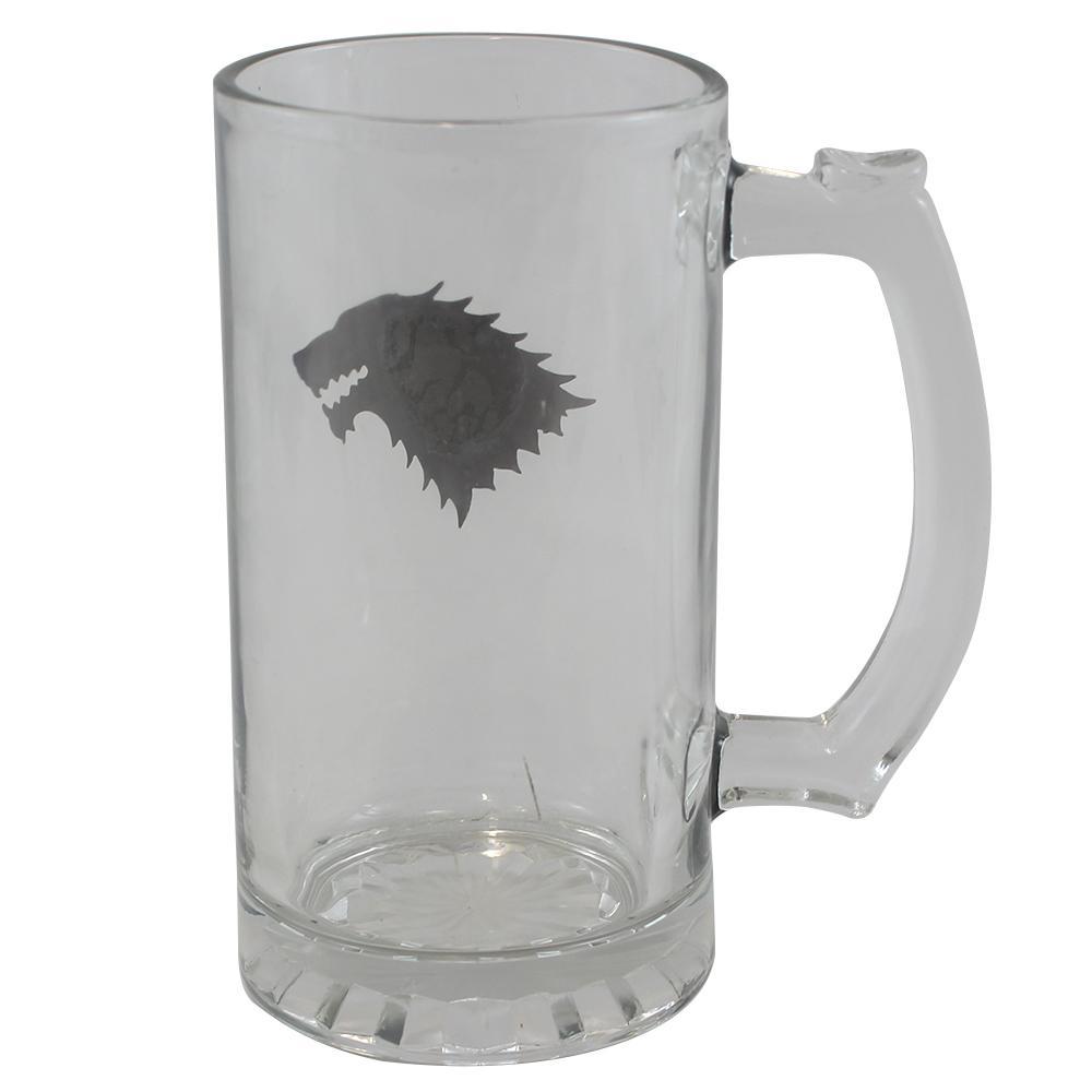Caneca Game Of Thrones Emblema de Metal Stark