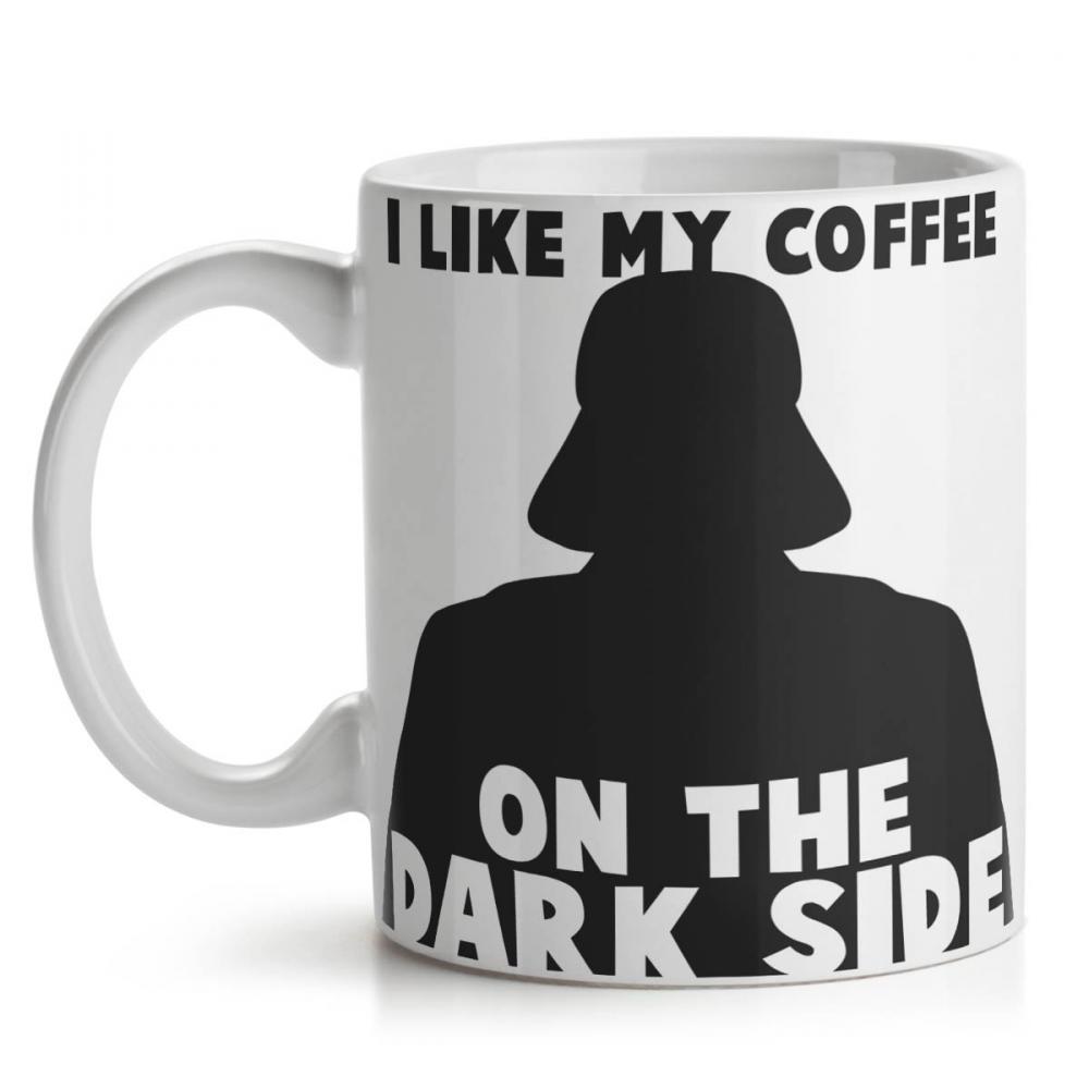 Caneca Geek Side Lado Negro da força Star Wars