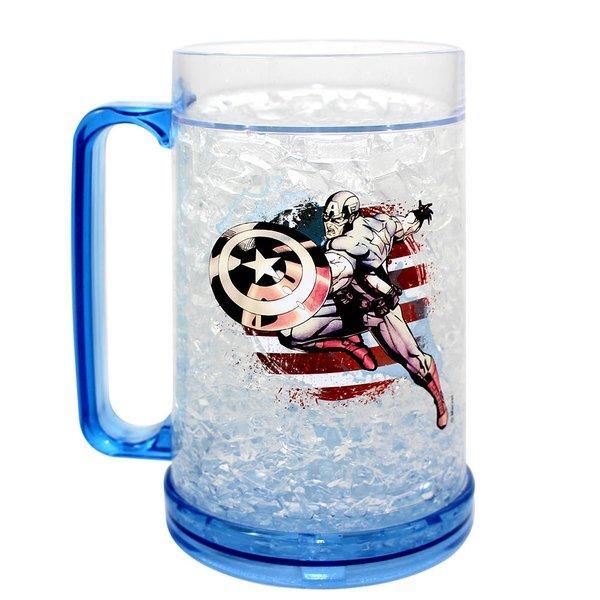 Caneca gelo capitão america