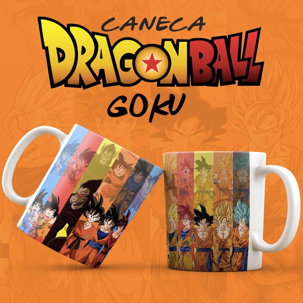 Caneca Goku Dragon Ball