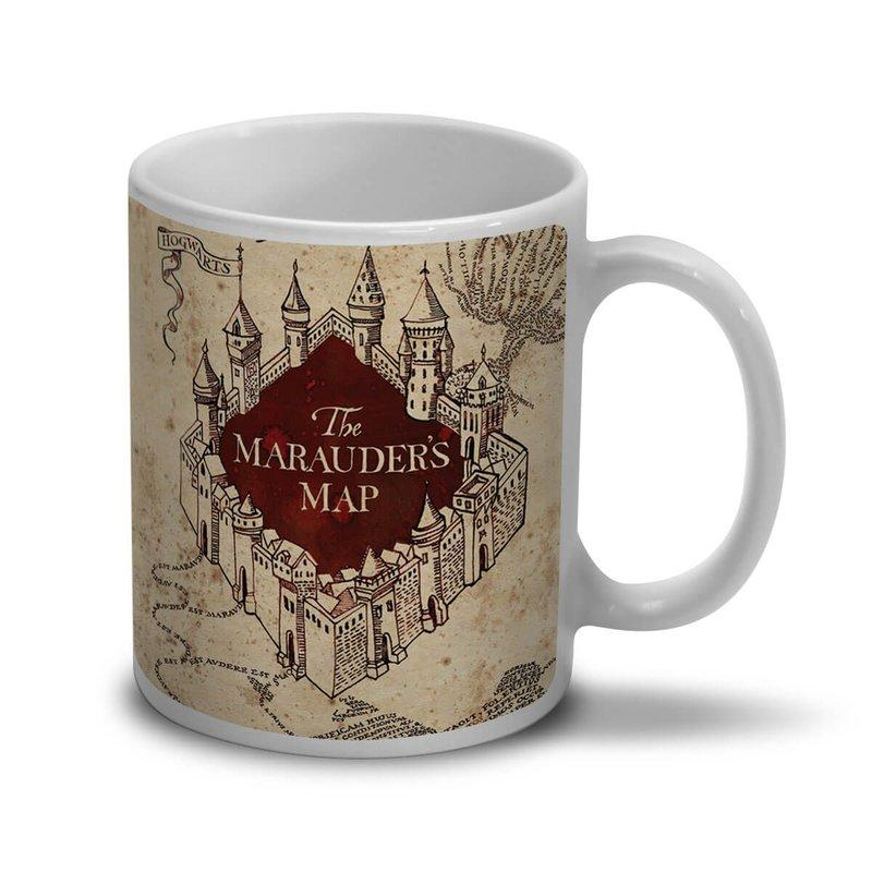 Caneca Harry Potter Mapa do Maroto