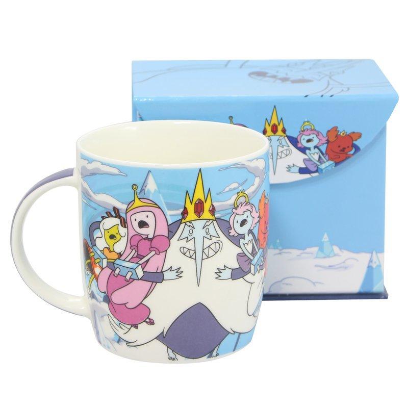 Caneca Hora De Aventura Princesas Do Rei Porcelana