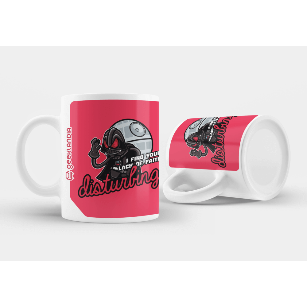 Caneca i find your lack of faith disturbing